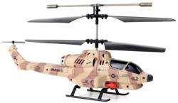 Радиоуправляемый вертолет Udi RC U809 Cobra Shooting Helicopter ИК-управление