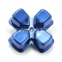 Крестовина для Dualshock 4 Strong Aluminum Blue Синяя (ps4)