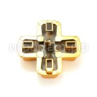 Крестовина для Dualshock 4 Strong Aluminum Gold Золотая (ps4)