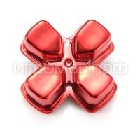 Крестовина для Dualshock 4 Strong Aluminum Red Красная (ps4)