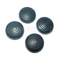 Набор насадок на стики Circle Soft Black черные силиконовые