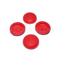 Набор насадок на стики Circle Soft Red Красные силиконовые