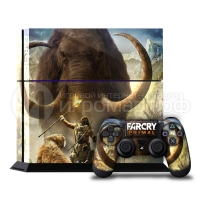 Far Cry Primal - Наклейка на PlayStation 4 (ps4)