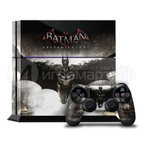 Batman Arkham Knight - Наклейка на PlayStation 4 (ps4)