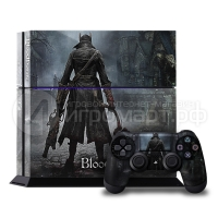 Bloodborne - Наклейка на PlayStation 4 (ps4)