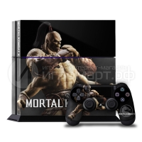 Mortal Kolmbat X Goro - Наклейка на PlayStation 4 (ps4)