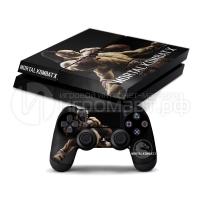 Mortal Kolmbat X Goro - Наклейка на PlayStation 4 (ps4)
