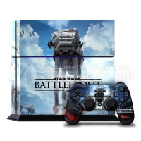 Star Wars Battlefront - Наклейка на PlayStation 4 (ps4)
