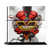 Street Fighter 5 - Наклейка на PlayStation 4 (ps4)
