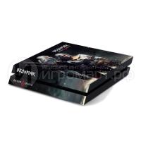 Ведьмак 3 - Наклейка на PlayStation 4 (ps4)