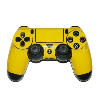 Наклейка на Dualshock 4 Monochrome Yellow Желтая (ps4)