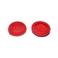 Насадки на стики Sniper Red Красные силиконовые