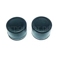 Удлиняющие насадки на стики Kvadro PRO Black Черные силиконовые