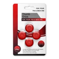 Защитные насадки Thumb Grips для геймпадов Red Красные