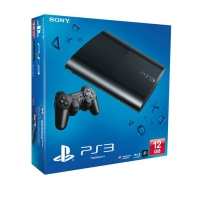 Sony PlayStation 3 Super Slim (12 Gb) (Черная)