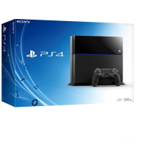 Sony PlayStation 4 (500 Gb) (черная)