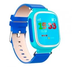 Умные Часы с GPS Smart Watch DIZY Q60s Blue Синие (Цветной Дисплей)