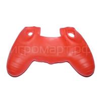 Чехол для Dualshock 4 Silicone Cover Red красный силиконовый (ps4)