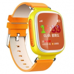 Умные Часы с GPS Smart Watch DIZY Q60s Yellow Желтые (Цветной Дисплей)