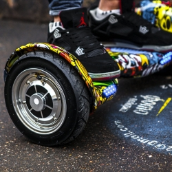 Гироскутер Smart Balance Wheel Offroad 10 Print Skull Принт Черепа