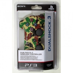 Беспроводной Геймпад Sony Dualshock 3 (ps3) (камуфляж Desert-Black-Green-Brown) для PlayStation 3