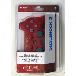 Беспроводной Геймпад Sony Dualshock 3 (ps3) (красный) для PlayStation 3