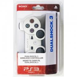Беспроводной Геймпад Sony Dualshock 3 (ps3) (серебристый) для PlayStation 3