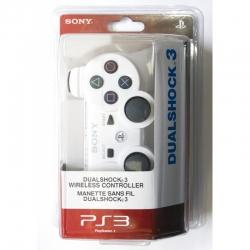 Беспроводной Геймпад Sony Dualshock 3 (ps3) (белый) для PlayStation 3