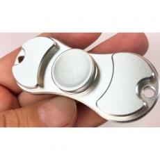 Spinner крутилка антистресс металл питчер (Серебристый)