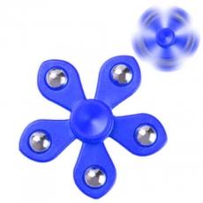 Spinner Спиннер крутилка цветок пять лучей со стальными шариками (Синий)