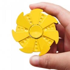 Spinner Спиннер крутилка Rose Turbine пластик (Желтый)