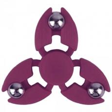 Spinner Спиннер крутилка с тремя стальными шариками (Бардовый)