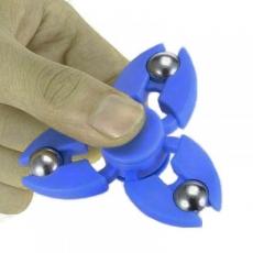 Spinner Спиннер крутилка с тремя стальными шариками (Синий)
