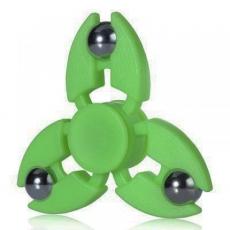 Spinner Спиннер крутилка с тремя стальными шариками (Зеленый)