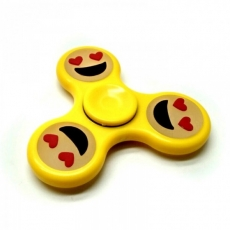 Spinner Спиннер крутилка смайл (Желтый)