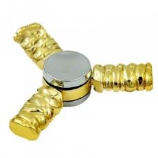 Spinner Спиннер крутилка треугольник металлический Легендарное оружие (Золотой)