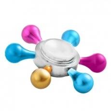 Spinner Спиннер металлический шестиконечный Капли (Разные цвета)