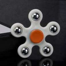 Spinner Спиннер крутилка пятиконечный (Белый)