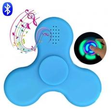 Спиннер с LED подсветкой светящийся и с Bluetooth (Синий)