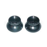 Стики для Dualshock 4 Aluminum Black алюминиевые черные (ps4)