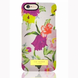 Пластиковый Чехол-накладка Ted Baker для iPhone 6 Вьюнки