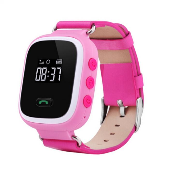 Умные Часы с GPS Smart Watch SUNY Q60 Pink Розовые