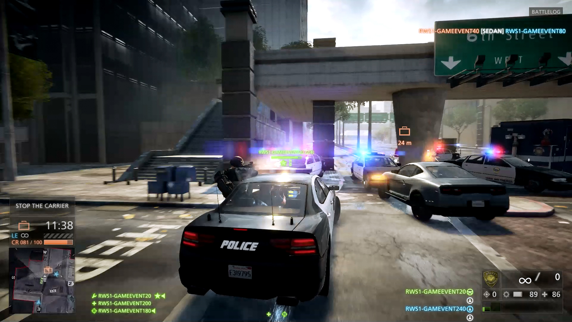 We found it by searching battlefield hardline beta in the